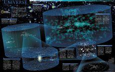 Космическая карта мира