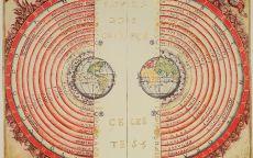 Старинная карта космоса