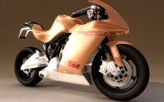 Мотоцикл 3D Art