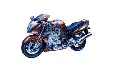 Прозрачный мотоцикл