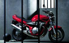 Мотоцикл suzuki bandit 600n за решеткой