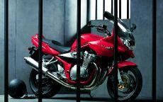 Мотоцикл Suzuki Bandit в тюрьме
