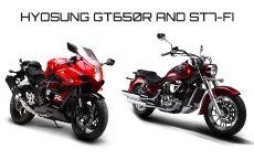 Мотоциклы Hyosung