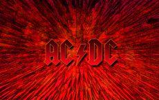 ACDC логотип красный