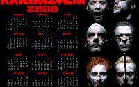 Календарь Rammstein