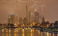 Молния в городе