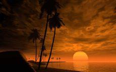 Закат в тропиках
