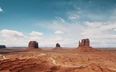 скала, пустыня, Америка, Монтана