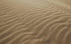 Природа, пустыня, песок, дюны, волны, пляж