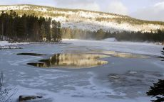Зимнее озеро