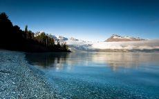 Озеро Боуман в национальном парке Глейшер США