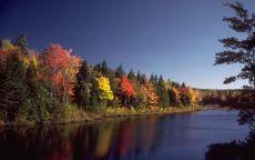 Осеняя река