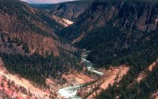 Русло реки в горах