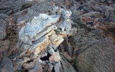 Остывшая лава вулкана