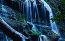 Кавказ, водопад