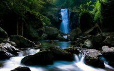 Голубой водопад
