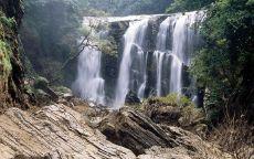 Индия водопад в джунглях