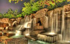 Искуственый водопад