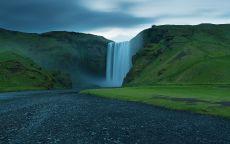 Водопад в Ирландии