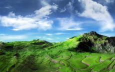 Зеленая, горная долина