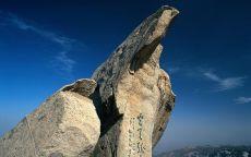 Иероглифы на скале