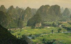 Горная долина Китай