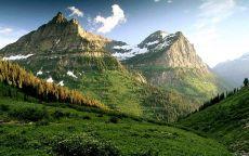 Красивая горная долина