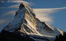 Маттерхорн гора в Альпах