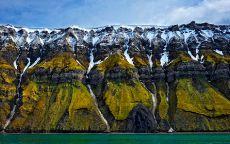 Зеленые скалы