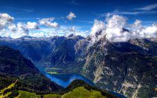 Горная река Новой Зеландии.