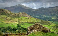 Горный пейзаж Шотландии.