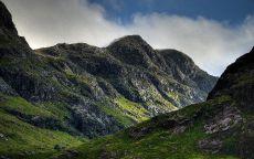 Горы Шотландии.