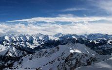 Снежные Альпы.
