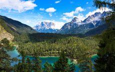 Альпы Горные вершины Австрии.