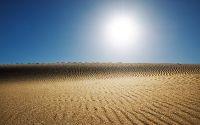 Солнце в пустыни