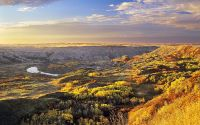 Рассвет в каньоне