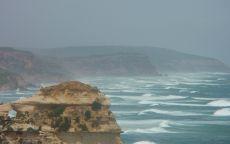 Скалистый берег океана Австралия