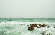 Изумрудное море.