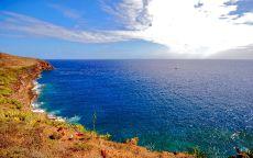 Берег Средиземного моря.