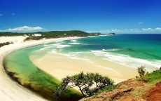 Австралия.Индийский пляж в штате Квинсленд.