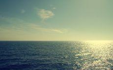 Горизонт над морем.