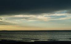 Горизонт на море.