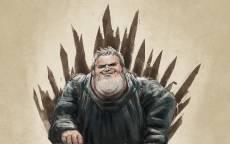 Картинка,Ходор,сериал Игра престолов, Железный Трон, рисунок