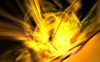 Креативный рисунок золотое свечение
