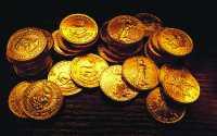Монеты золотые