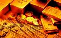 Золото и бумажные деньги
