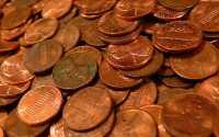 Монеты 1 цент США