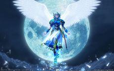 Аниме ангел в доспехах