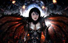 Женщина демон