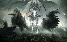 Демон в колеснице